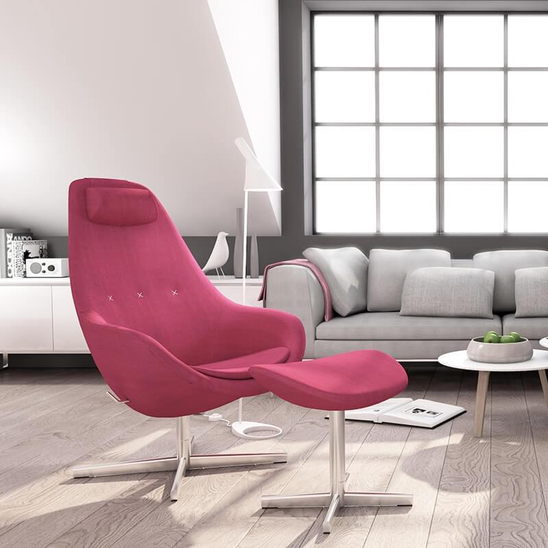 fauteuil relax inclinable design en tissu kokon varier