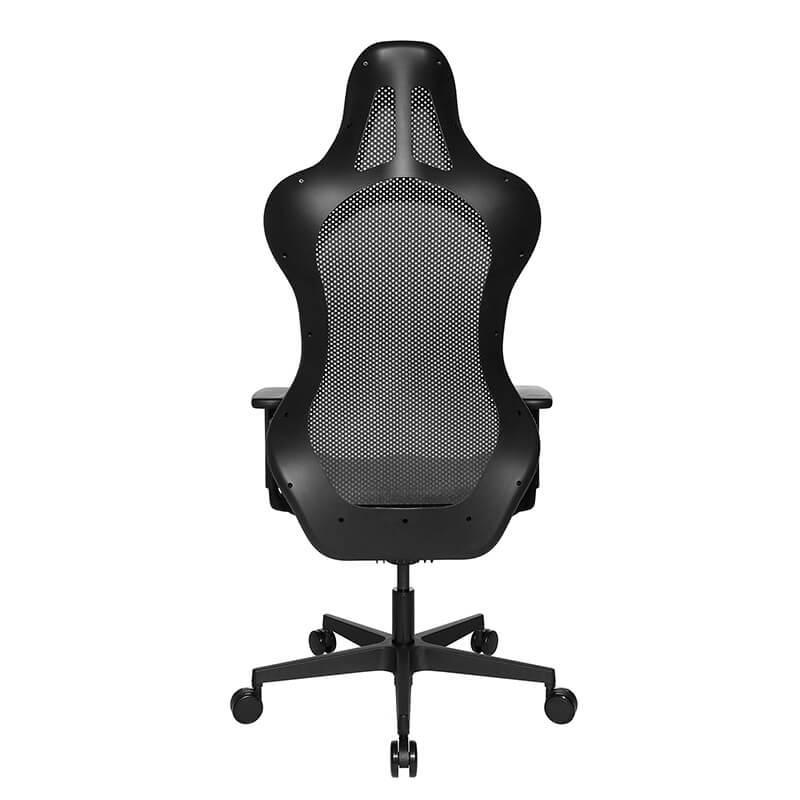 chaise gamer design dossier avec filet sitness rs sport