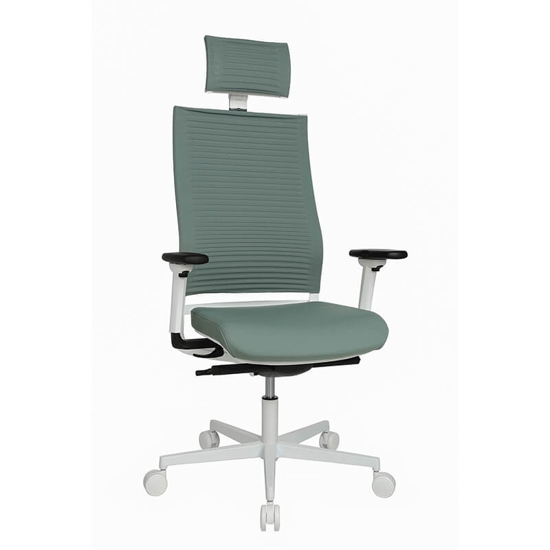 fauteuil de bureau design reglable avec appui tete sitness life 80