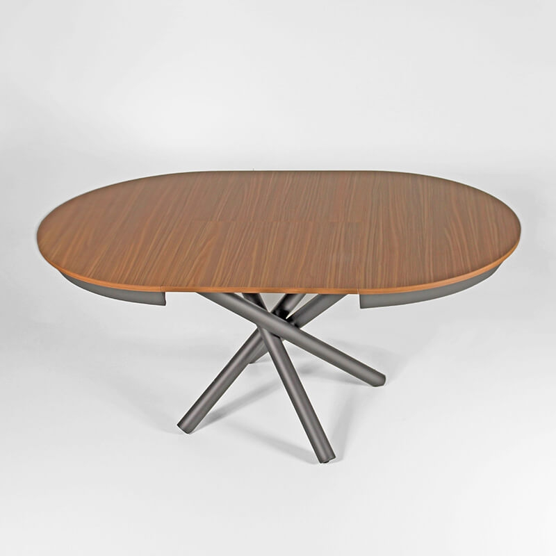 table ronde extensible design italien en melamine celsius