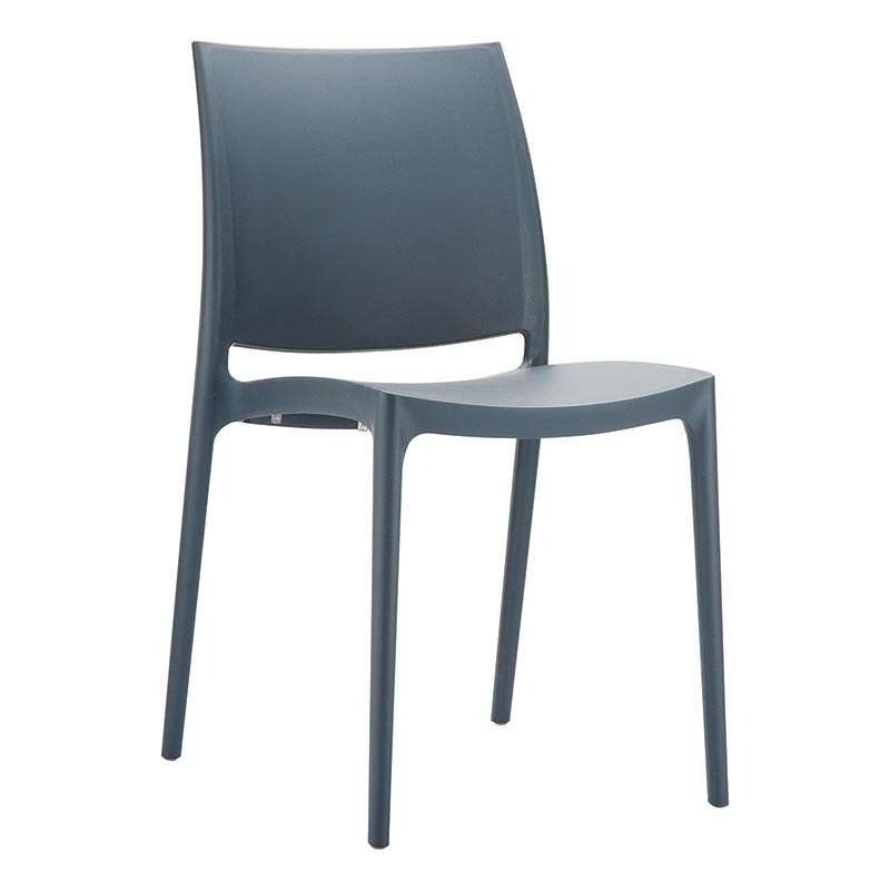chaise en plastique polypropylene maya