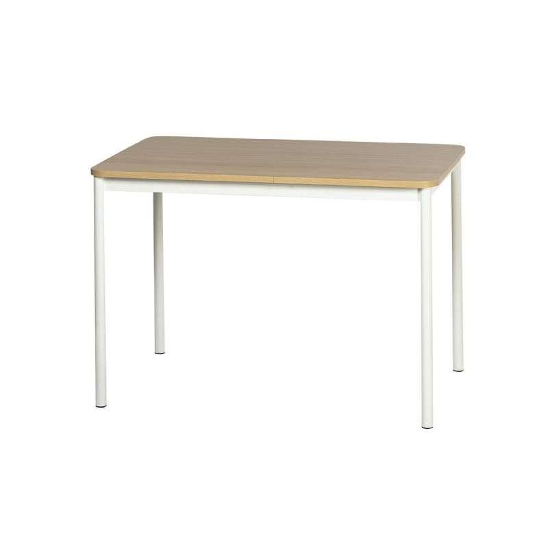 table de cuisine rectangulaire en stratifie basic