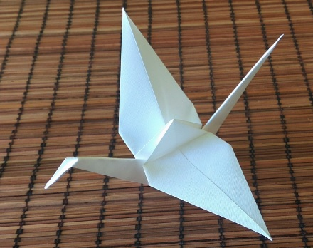 Origami jeřáb - Svatební bazar | Beremese.cz