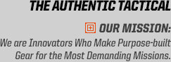 5.11 Tactical is THE AUTHENTIC TACTICAL