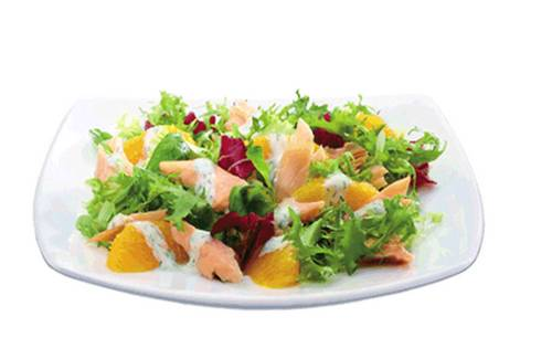 Recette Truite Fume Et Salade Lorange 750g