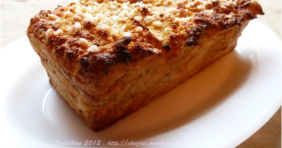 gateau de pain perdu pomme et cannelle