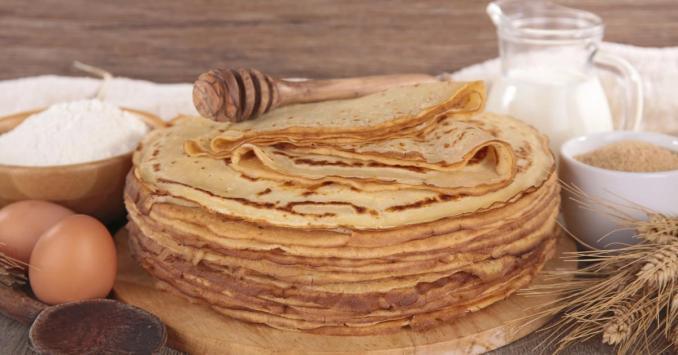Recette - Pâte à crêpes sucrées inratable | 750g