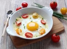 œufs au plat au four