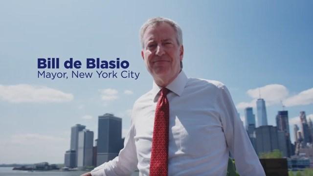 New York City Mayor Bill de Blasio announces run for president ...