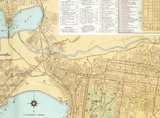 HD Decor Images » The Latitude   Longitude of Collectible Maps Map of San Diego