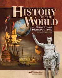 Abeka Product Information History Of The World