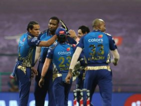 IPL 2020: First team to qualify for the 4-time Champions MI playoffs after 49 matches over 40 days