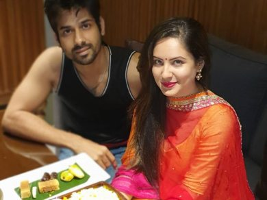 Karwa Chauth 2020: Newly Married Puja Banerjee & Kunal Verma Keep Fast For Each Other's Well Being