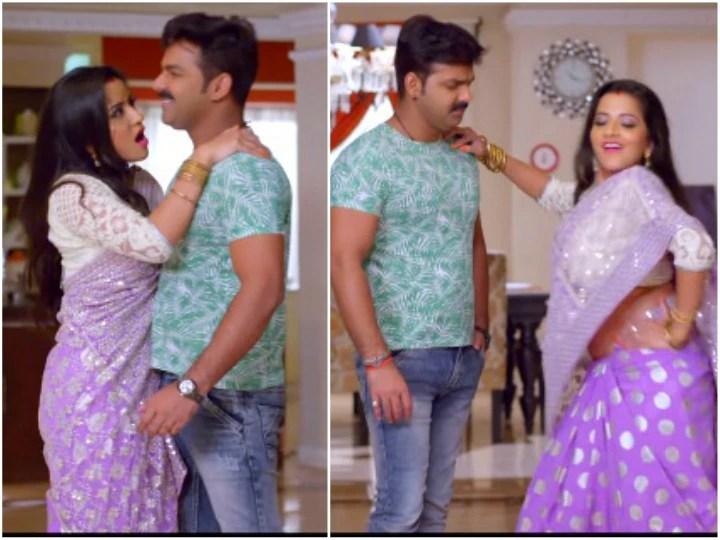 Monalisa and Pawan Singh Bhojpuri song Jawani Sikhar Par from Pawan Raja watch video