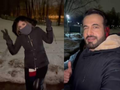 क्वारंटीन में पत्नी सफा बैग को मिस कर रहे हैं इरफान पठान, शेयर किया रूस में घूमने का ये रोमांटिक वीडियो