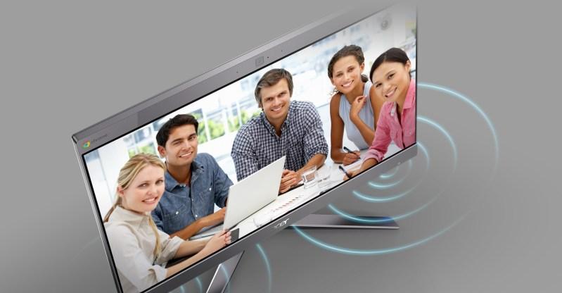 Acer Chromebase 24I2 - Easier Collaboration - Large