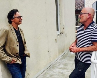 Paul Madonna en compagnie d'André Furlan