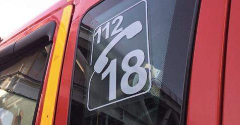 Les pompiers se sont rendus sur les lieux de l'accident mortel.