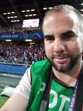 Ploërmelais correspondent Fred Jigorel photographed the Women's World Cup.