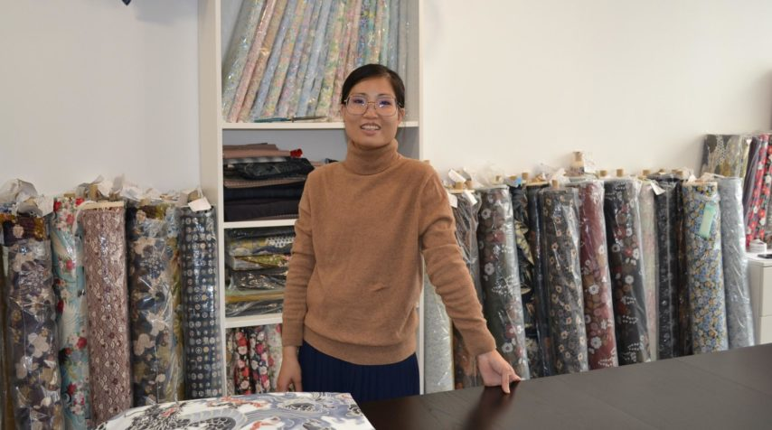 fougeres un magasin de tissu japonais