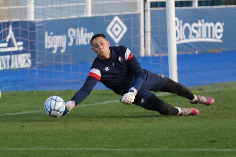 Sullivan Péan a joué son premier match avec les professionnels du SM Caen.