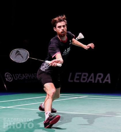 Badminton.  For Lucas Corvée, the coming will now double