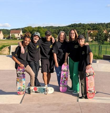 Seine-et-Marne: snowboarding for everybody with the modern skate affiliation in Saâcy-sur-Marne