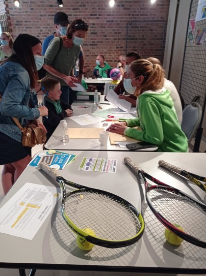Begin home at Orbec tennis membership: registration and free trial classes