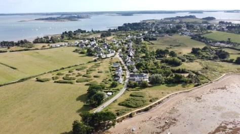 L'île d'Arz dans le Golfe du Morbihan.