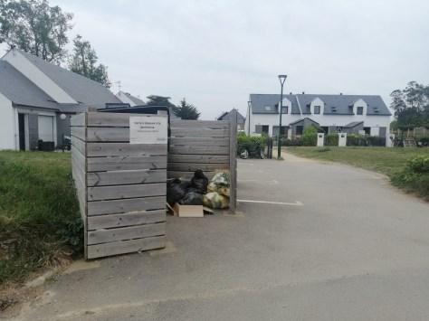 Île d'Arz déchets maisons