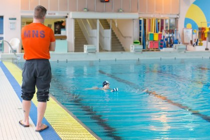 A Caen pool now closed for swimmers who know how you can swim