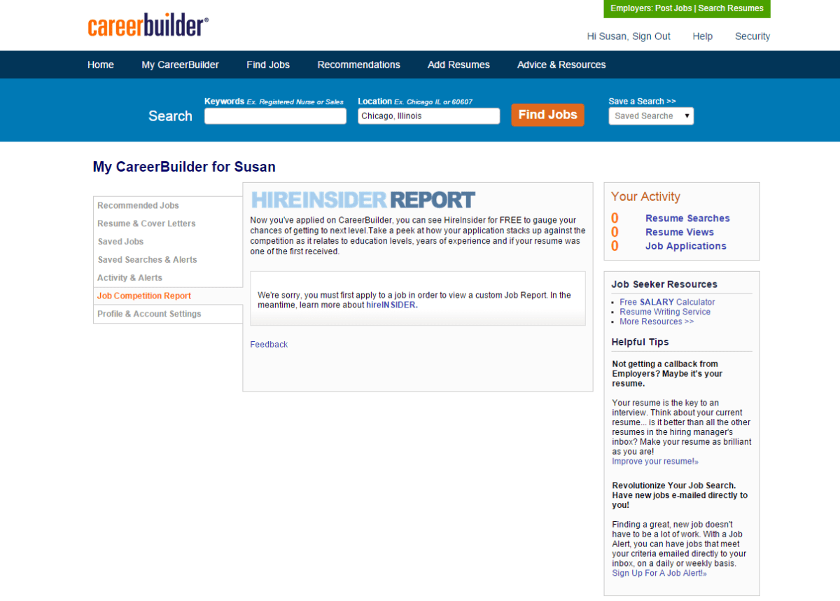 HireInsider reports show competitive stats about available RN jobs
