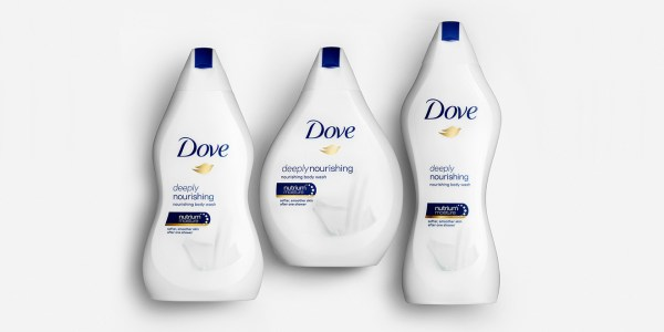 Doves Real Beauty Bottles Come in All Shapes and Sizes