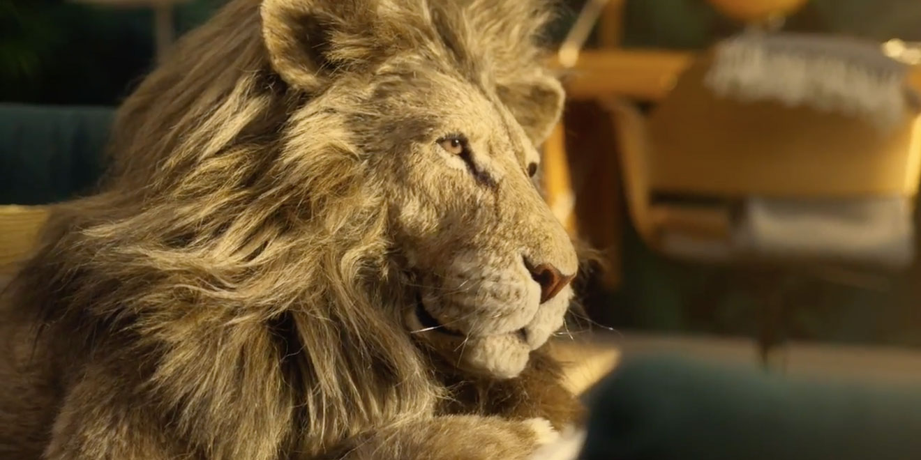 Ikea And A Friendly Lion Relax Into Greatness In
