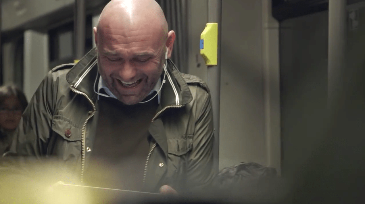 Why Coca Cola Hired This Man To Laugh Really Really Hard