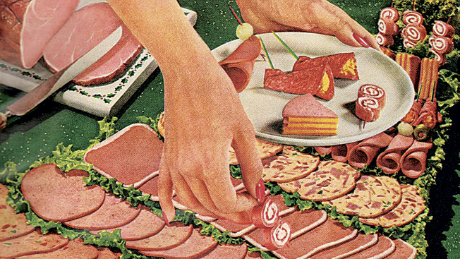 Resultado de imagem para lunch meats 1960s