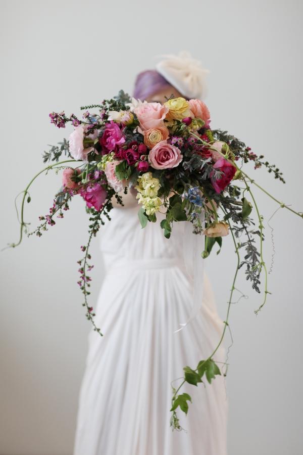 Colorful Monet Inspired Wedding Style Aisle Society