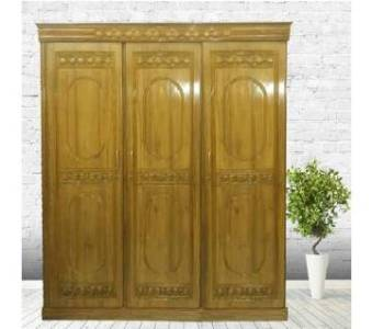 Best Quality Wooden Almirah in Bangladesh   AjkerDeal com S Rose model almirah