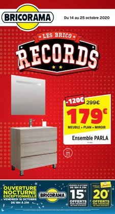 bricorama catalogue reduction et