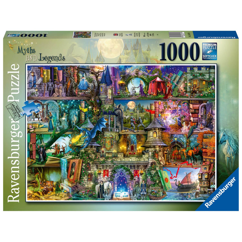 puzzle 1000 pieces mythes et legendes