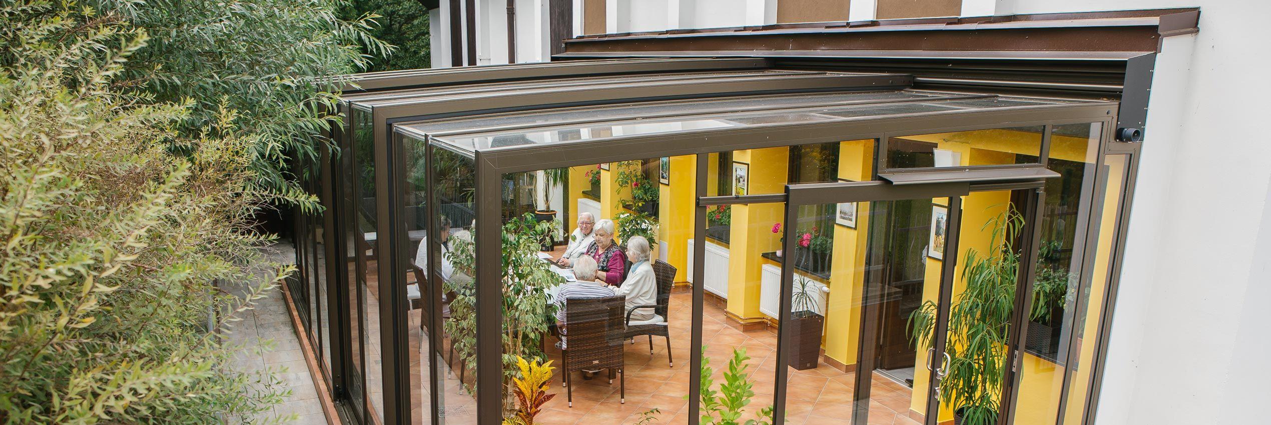 retractable patio enclosures great