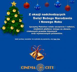 Cinema-City - życzenia bożonarodzeniowe