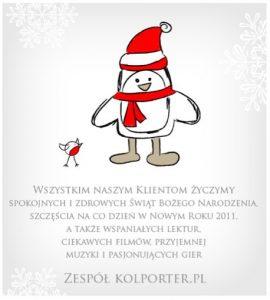 Kolporter - życzenia świąteczne