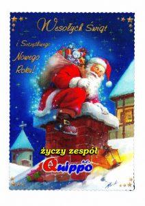 Quippo - życzenia bożonarodzeniowe