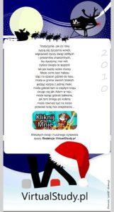 VirtualStudy.pl - życzenia świąteczne
