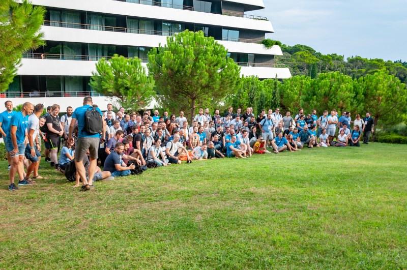 Web Summer Camp 2018 - pamiątkowe zdjęcie uczestników