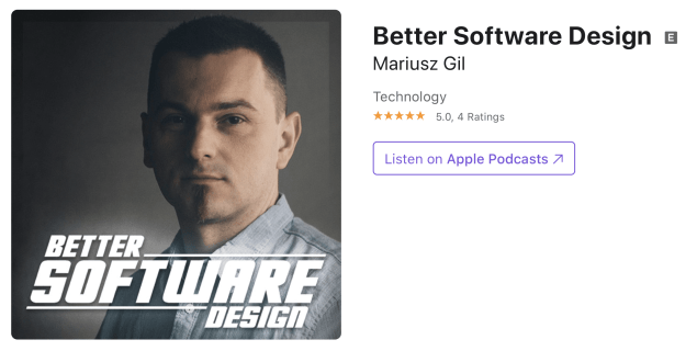 Mariusz Gil - Better Software Design
