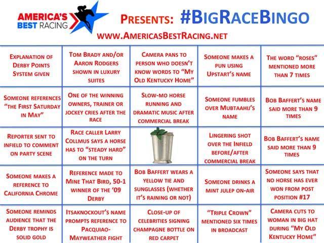 BigRaceBingo Americas Best Racing