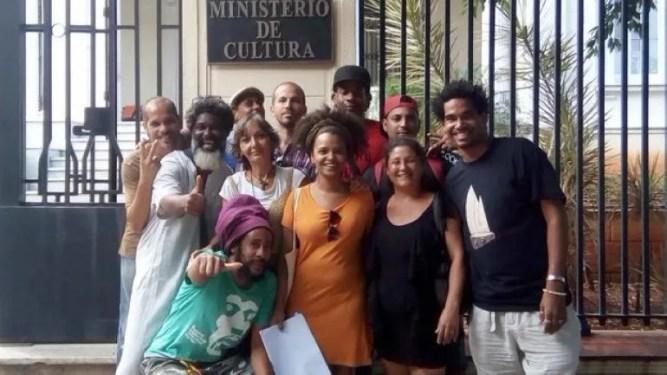 Detenidos y en huelga de hambre artistas cubanos que protestaron contra decreto 349 en La Habana