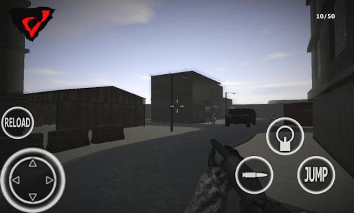 FPS War 2-Shooter simulator 3D